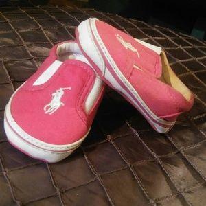 Ralph Lauren Polo Infant Shoe Size 1